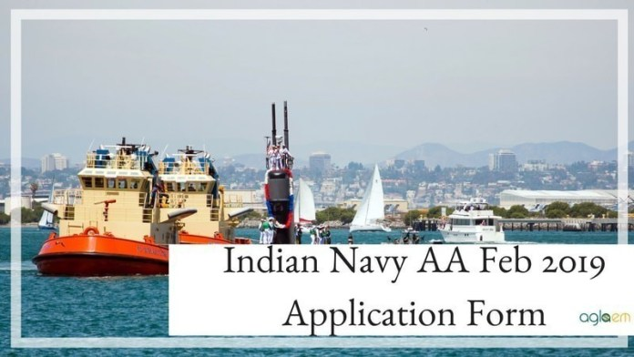 Indian Navy Aa Feb 2019 Application Form Apply Here