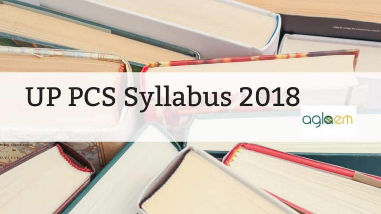 Mains pdf pcs up syllabus