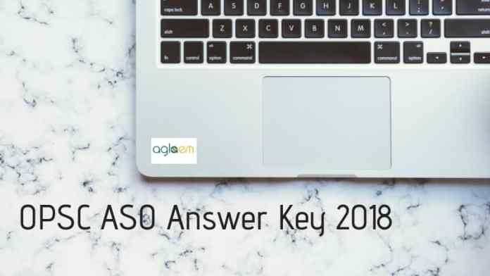 OPSC ASO Answer Key 2018