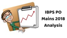 IBPS PO Mains 2018 Analysis