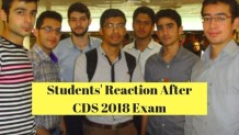 Students' Reaction After CDS 2018 Exam
