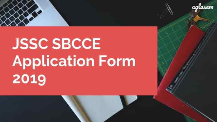 JSSC SBCEE Application Form 2019 Aglasem