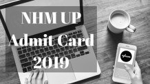 NHM UP Admit Card 2019 Aglasem