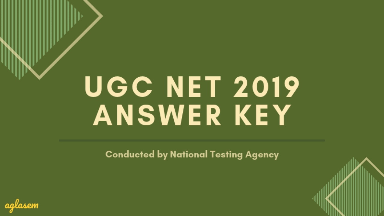 UGC NET Hindi Answer Key 2019 - Download Here for June Exam