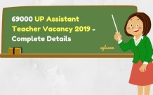UP Assistant Teacher Vacancy 2019