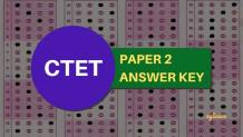 CTET Paper 2 Answer Key