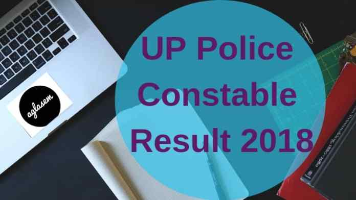 UP Police Constable Result 2018 Aglasem