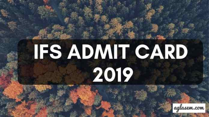 IFS Admit Card 2019 Aglasem
