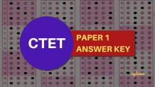 CTET Paper 1 Answer Key