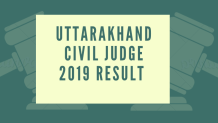 Uttarakhand-Civil-Judge-2019-Result-Aglasem